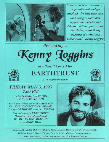 Benefit Concert for Earthtrust Handbill