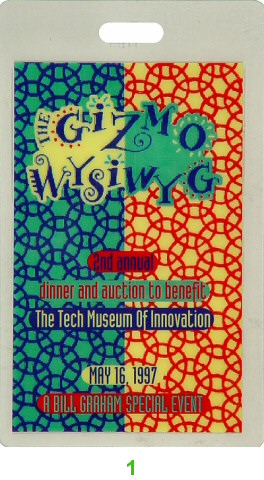 Benefit for Tech Museum of Innovation Laminate