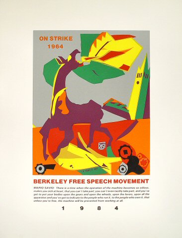 Berkeley Free Speech Movement Poster
