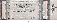 Bernie Mac Vintage Ticket