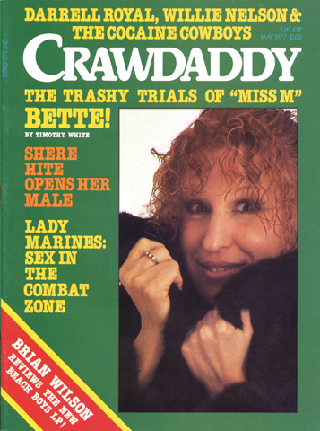 Bette Midler Crawdaddy Magazine
