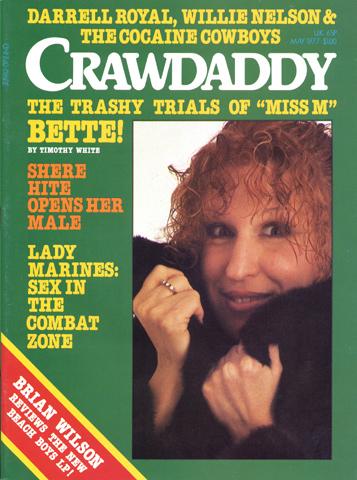 Bette MidlerCrawdaddy Magazine