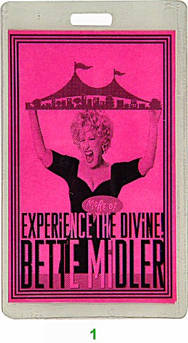 Bette Midler Laminate