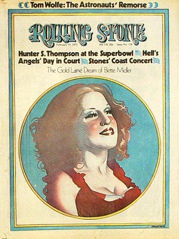 Bette MidlerRolling Stone Magazine
