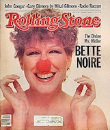 Bette Midler Rolling Stone Magazine