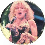 Bette Midler Vintage Pin