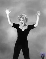 Bette Midler Vintage Print