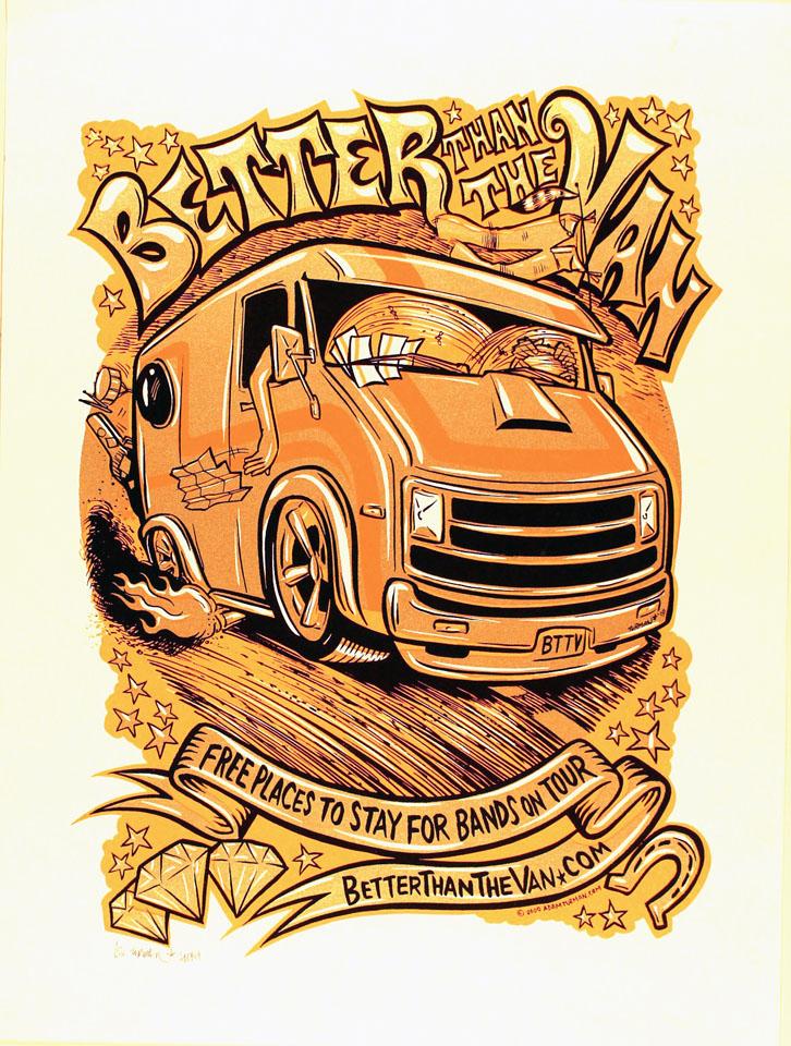 Better Than The Van Poster