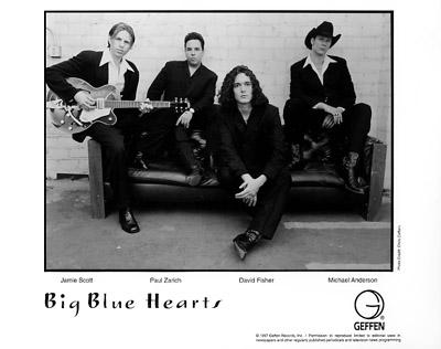 Big Blue HeartsPromo Print