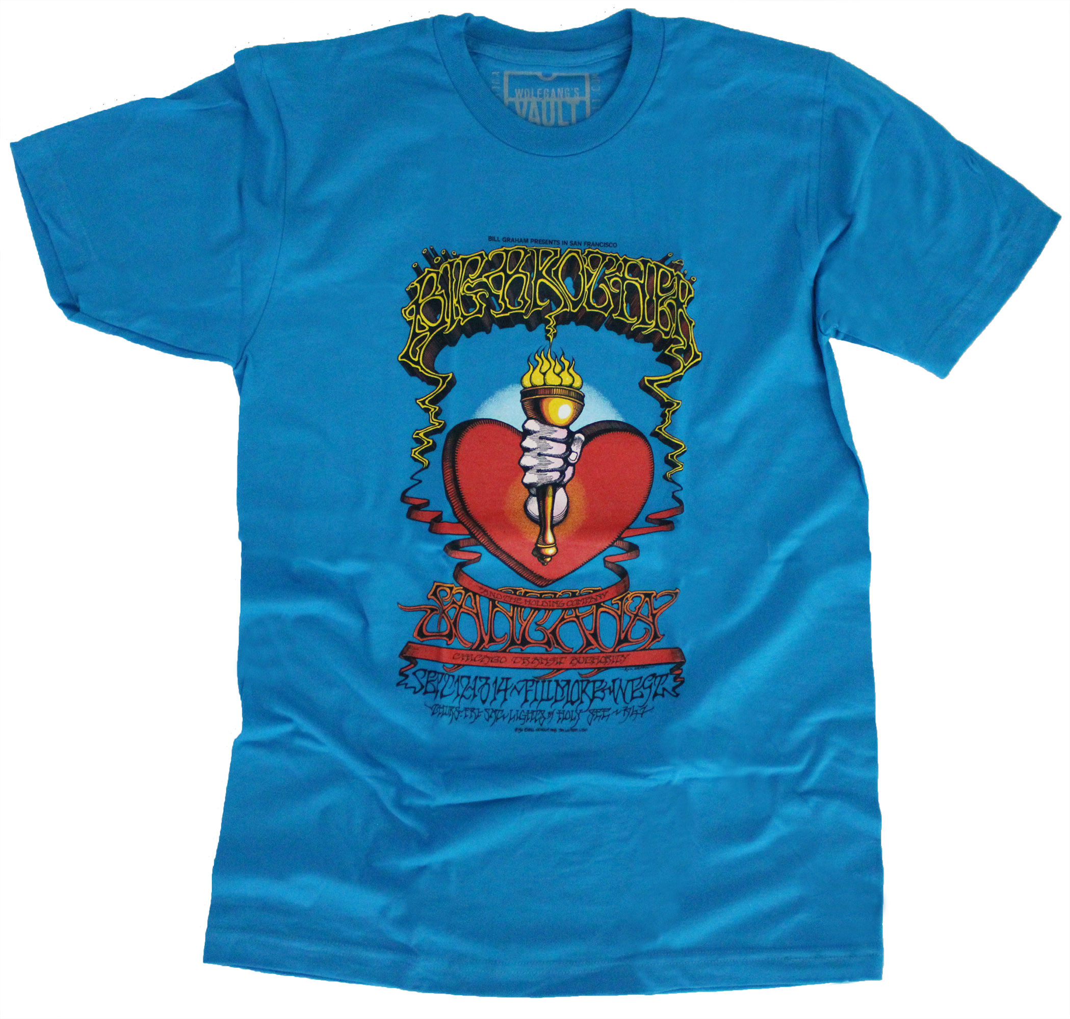 Free Big Brother and the Holding Company T-Shirt with Membership purchase