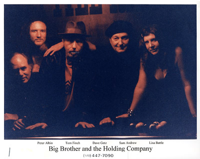 Big Brother and the Holding Company Promo Print