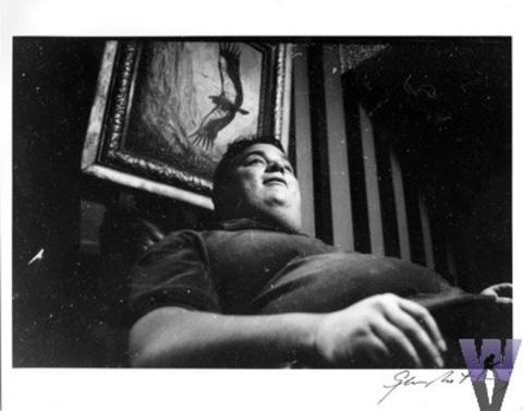 """Big Davey"" Rosenberg Vintage Print"