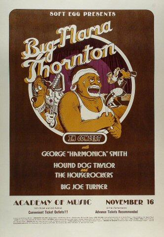 Big Mama Mae Thornton Poster