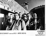 Big Sandy and His Fly Rite Boys Promo Print