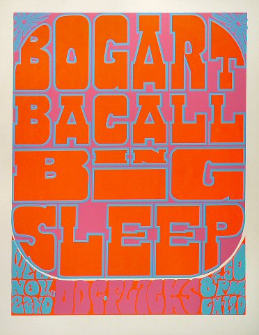 Big Sleep Serigraph