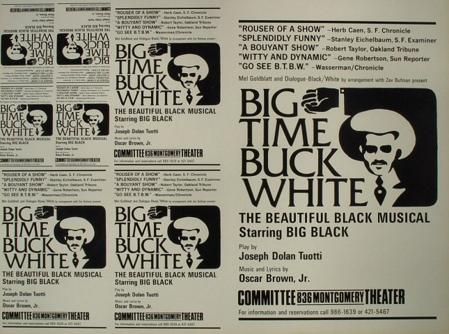 Big Time Buck White Proof