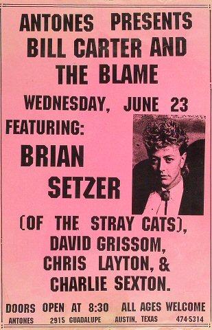 Bill Carter and the Blame Poster