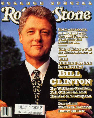 Bill Clinton Rolling Stone Magazine