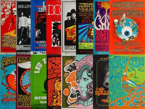 Bill Graham Poster Set Poster