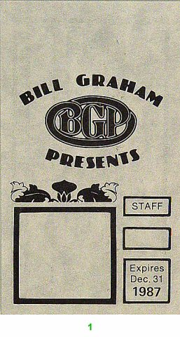 Bill Graham PresentsLaminate