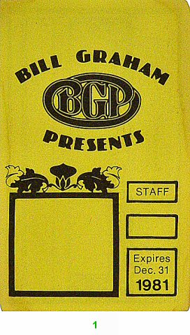Bill Graham Presents Laminate