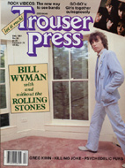 Bill Wyman Trouser Press Magazine
