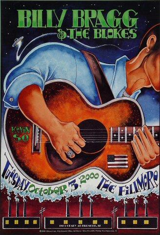 Billy Bragg &amp; The Blokes Poster