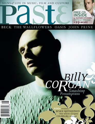 Billy Corgan Paste Magazine