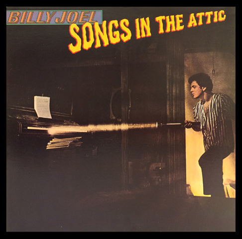 Billy JoelFramed Album Cover
