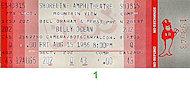 Billy Ocean Vintage Ticket