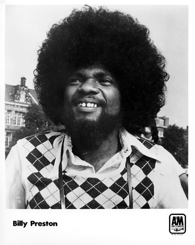 Billy Preston Promo Print
