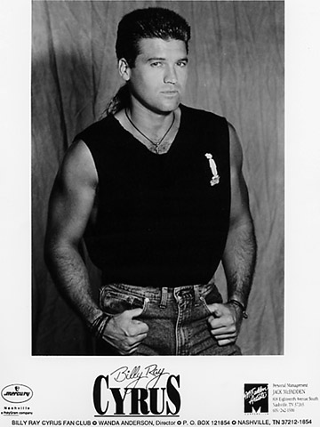 Billy Ray Cyrus Promo Print