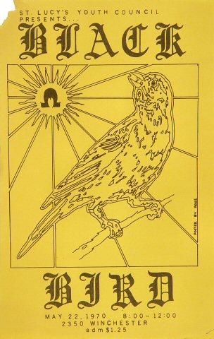 Black Bird Handbill