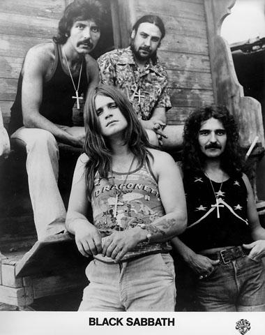 Black SabbathPromo Print