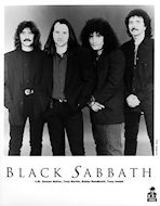Black Sabbath Promo Print