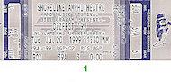 Black Sabbath Vintage Ticket