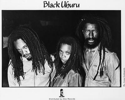 Black Uhuru Promo Print