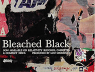 Bleached Black Poster