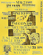Blind Illusion Handbill