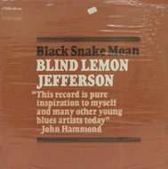 Blind Lemon Jefferson Vinyl