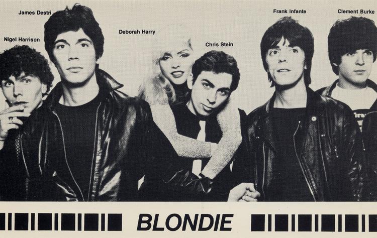 Blondie Postcard