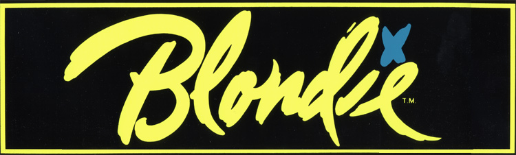 Blondie Sticker