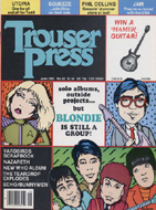 Yardbirds Trouser Press Magazine