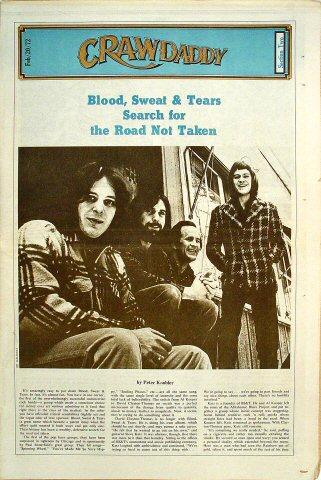Blood, Sweat and TearsCrawdaddy Magazine