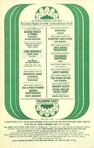 Buddy Miles Handbill