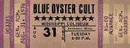 Blue Oyster Cult Vintage Ticket