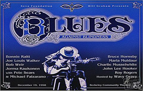 Blues Against Blindness Serigraph