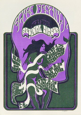 Blues Festival Postcard