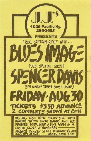Blues Image Handbill