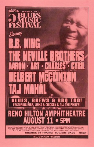 Blues Music Festival Poster